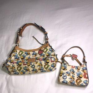 Dooney & Bourke 1975 bag and wallet bundle